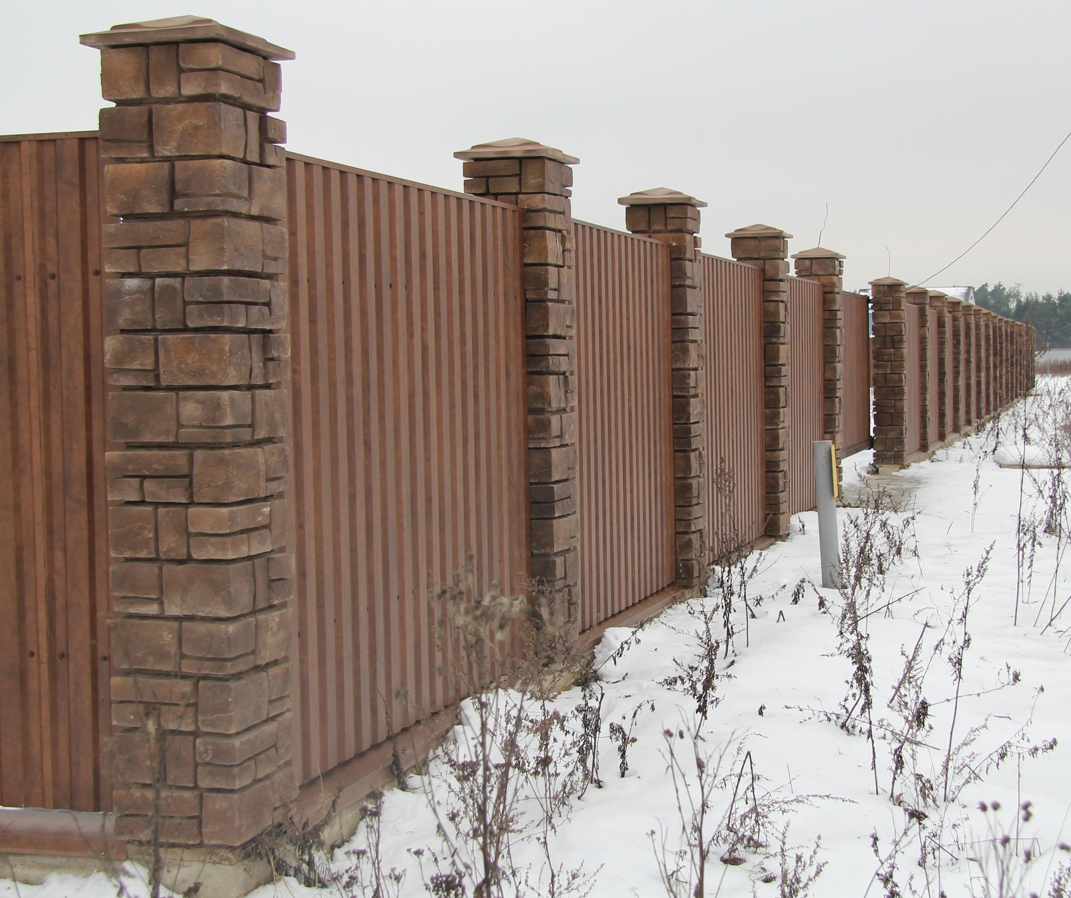 Изготовление бетонных столбов для забора своими руками. Как 82